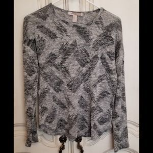 Forever 21 lightest gray sweater size M EUC